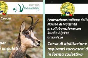 Corsi abilitazione alla caccia di selezione agli ungulati e alla collettiva al cinghiale – FIDC Magenta – 17 marzo 2020