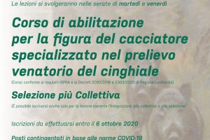 Corso di preparazione all'esame Zona Alpi – 14/23 settembre 2020